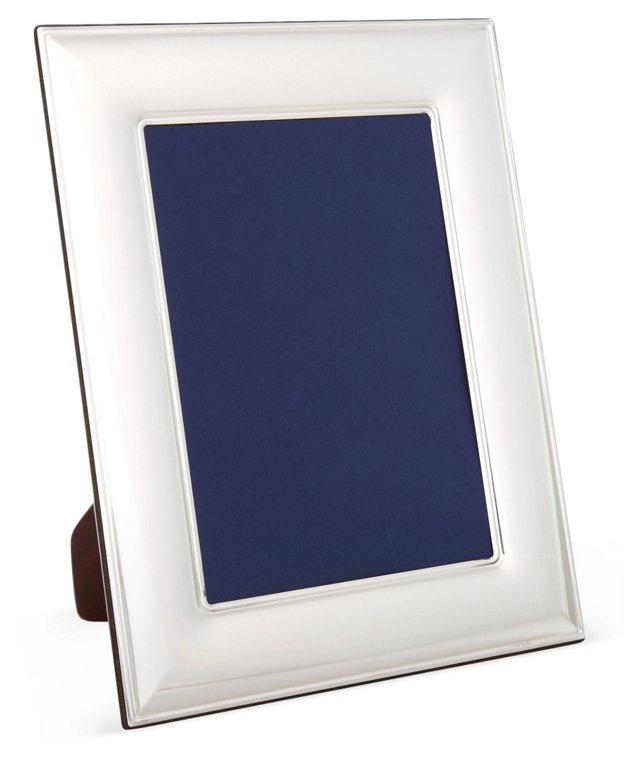 Sterling Silver Wide Simple Frame, 8x10