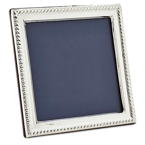 .925 Sterling-Silver Roped Frame, 3x3