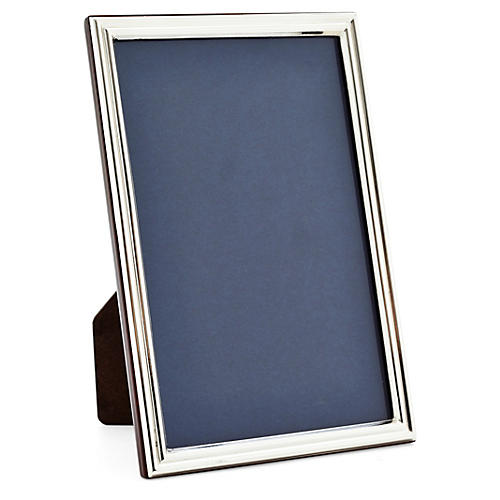 925 Sterling-Silver Grooved Frame, 5x7