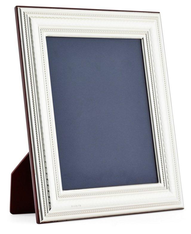 Sterling-Silver Scroll Frame, 5x7