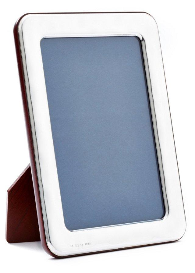 Sterling-Silver Light Frame, 8x10