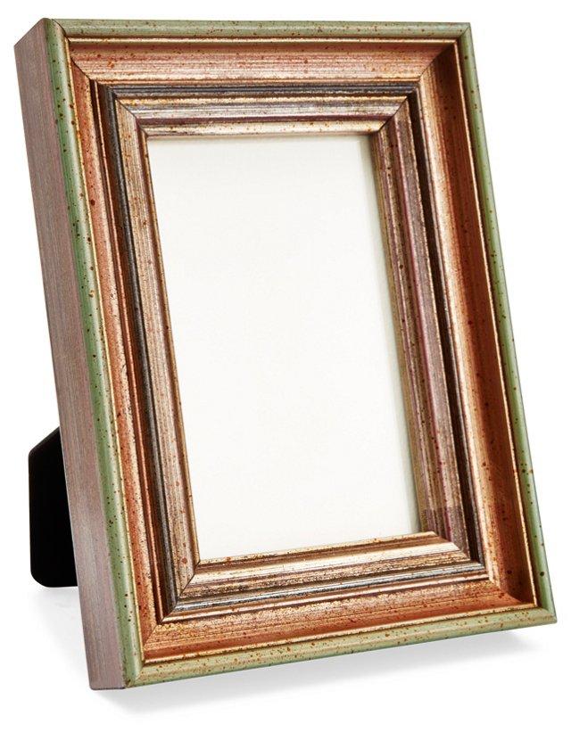Wooden Frame, 4x6, Green