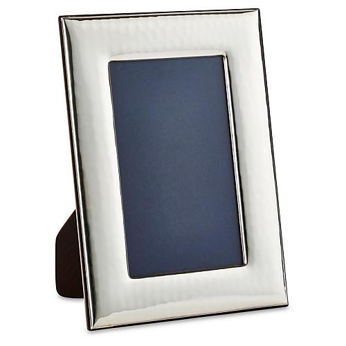 Sterling Wide Hammered Frame, 3.5x5