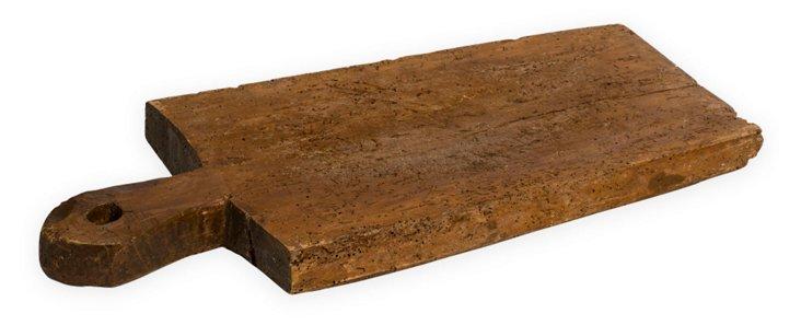 Antique Romanian Bread Board