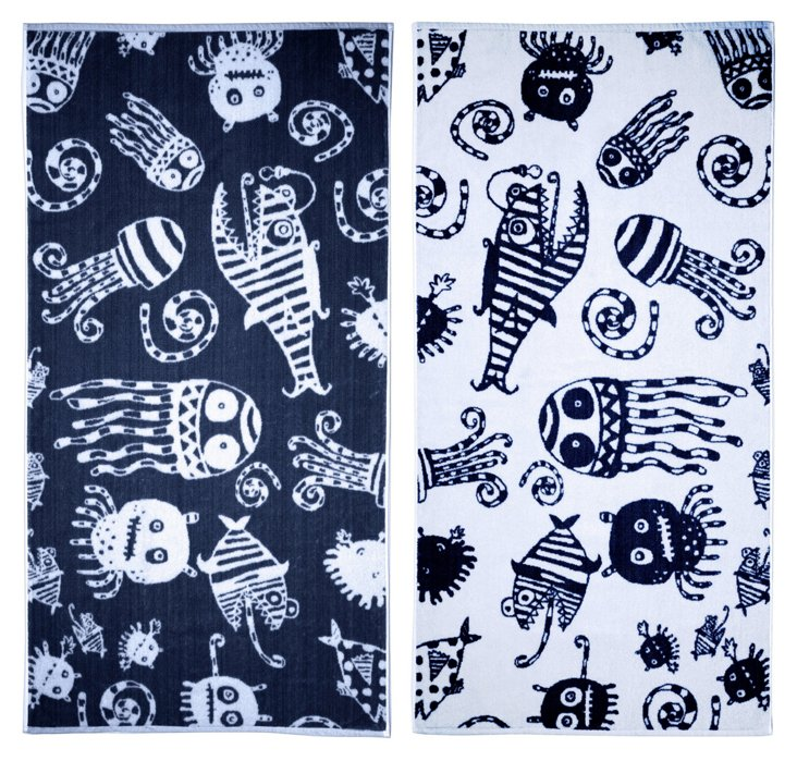 Matthew Langille, Deep Sea Beach Towel