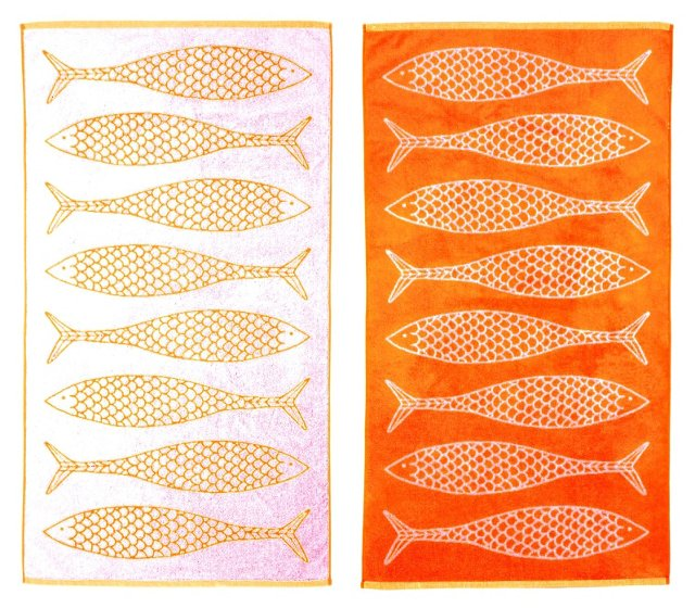 Stephen Haskell, Fish Beach Towel