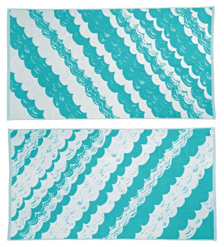 Tracy Reese, Scallop Beach Towel