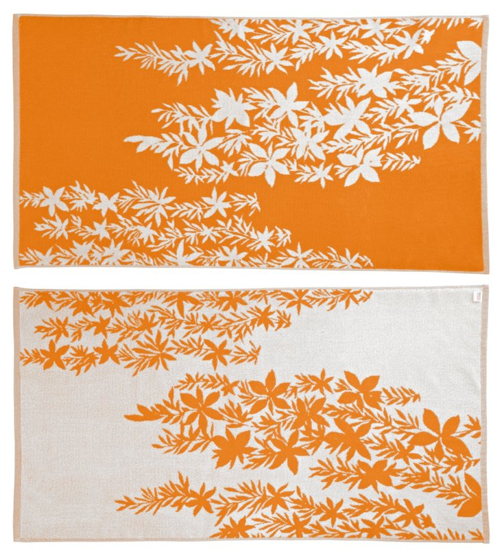 Tracy Reese, Falling Leaves Beach Towel