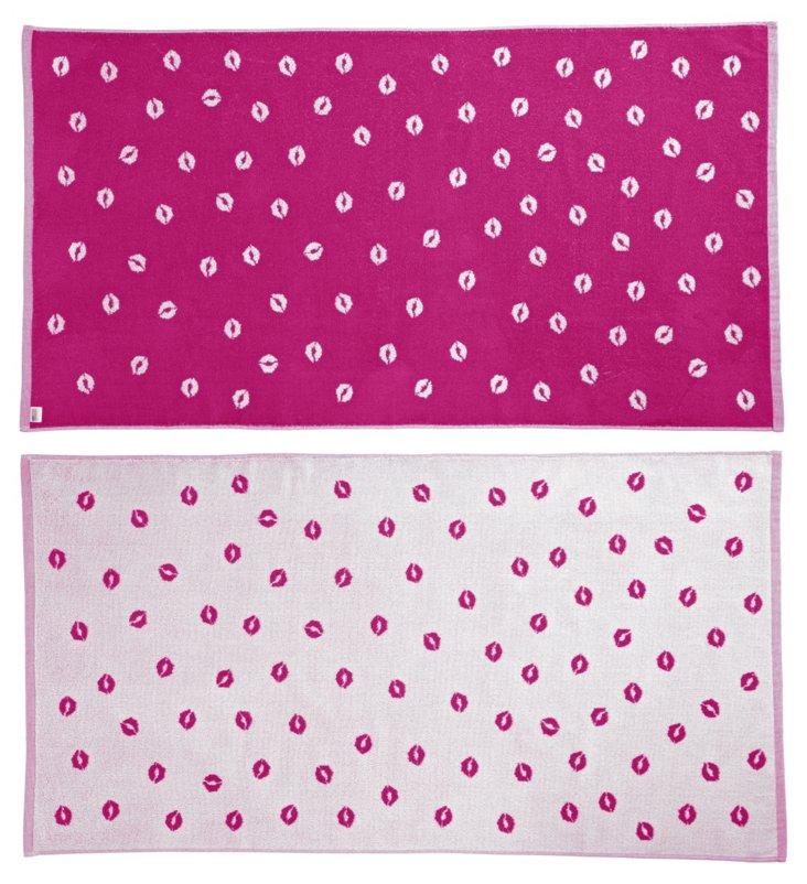 C. Miller, Kiss Beach Towel