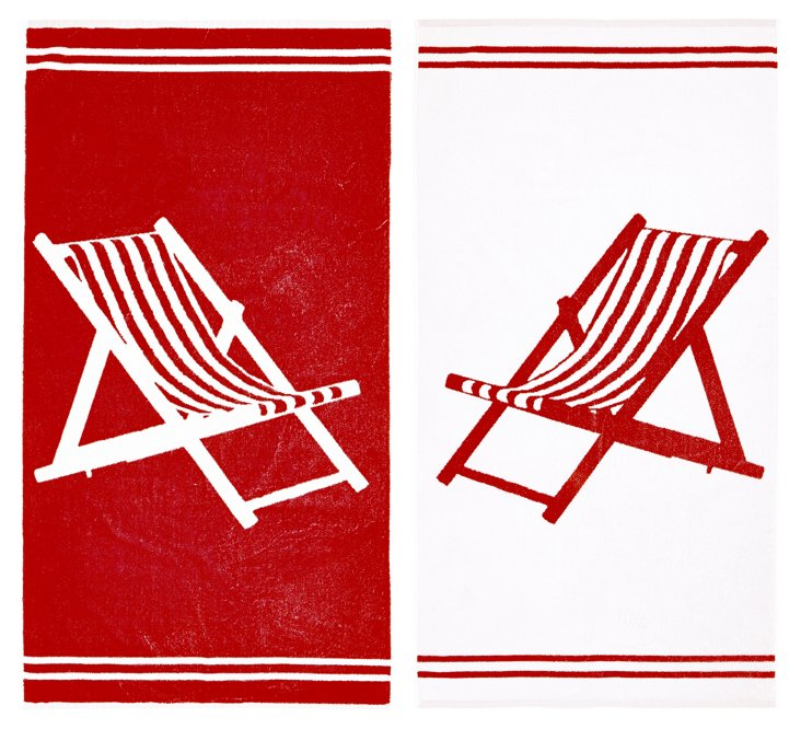 Willow Textiles, Deck Chair Towel