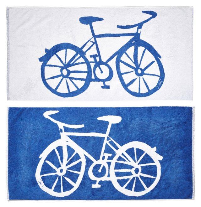 Tom Slaughter, Bike Beach Towel