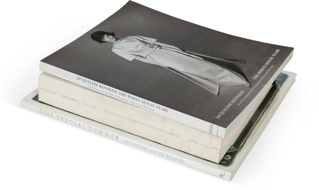 Jackie Kennedy' Books, Set of 3