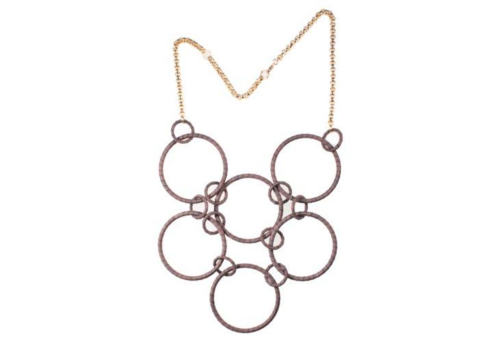 Antigone Necklace, Taupe