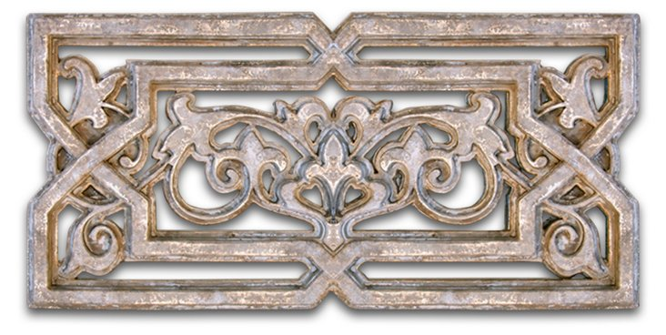 Lorencio Wall Plaque, Gold/Copper