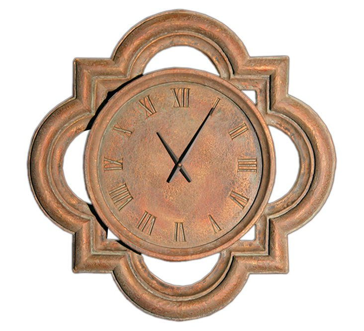 Tycho Clock, Gold/Copper