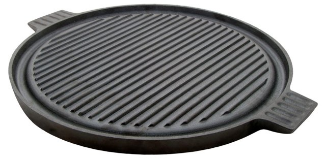 Solutions Round Cast Iron Grill Plate