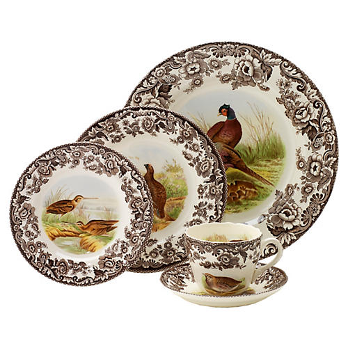 5-Pc Woodland Place Setting