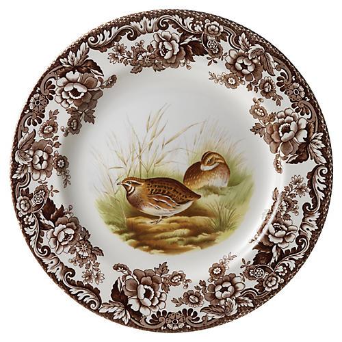 Quail Dinner Plate