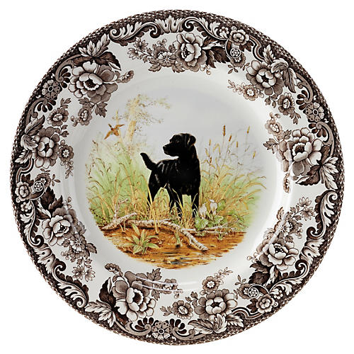 Hunting Dogs Dinner Plate