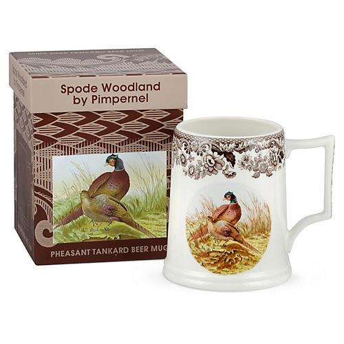 Pheasant Beer Mug