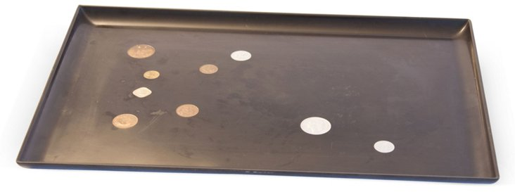 Couroc of Monterey Tray w/ Coins III