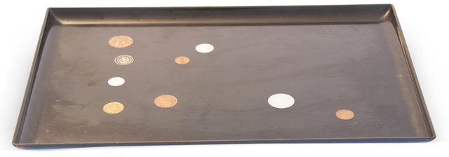 Couroc of Monterey Tray w/ Coins IV