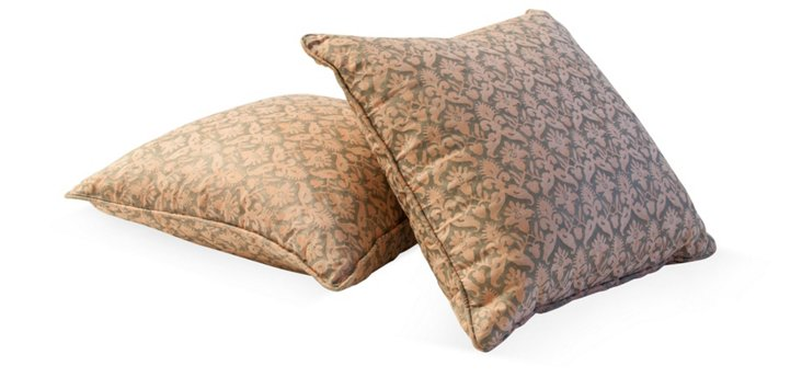 Delfino Fortuny Pillows, Pair II