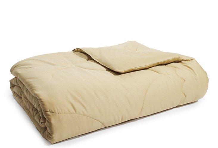 Organic Merino Wool Comforter, Gold