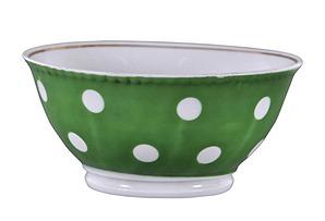 Vintage Tila Bowl w/ Gilded Edge