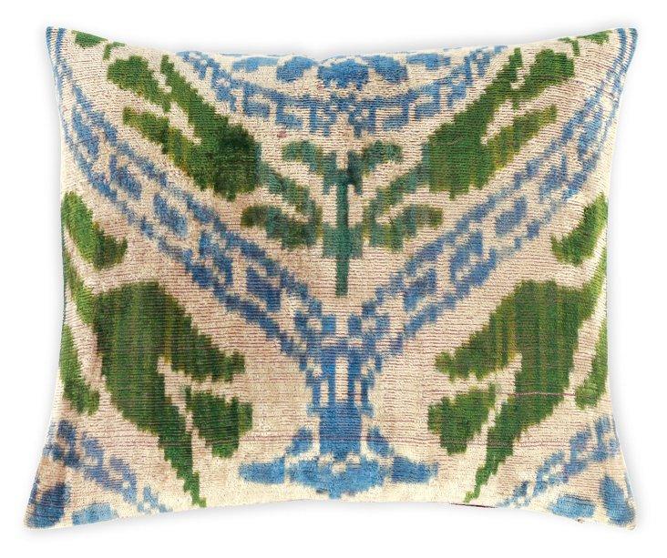 Torta 15x12 Silk Velvet Pillow, Multi