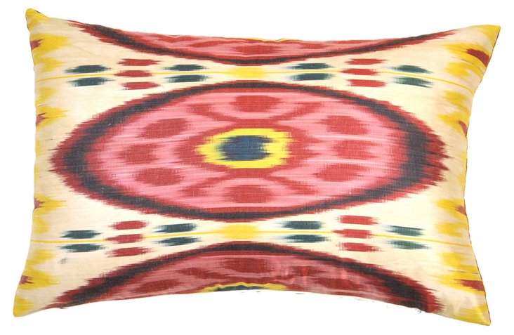 Bardot 14x20 Silk Pillow, Multi