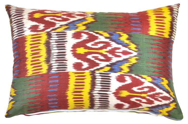 Calabra 14x20 Silk Pillow, Multi