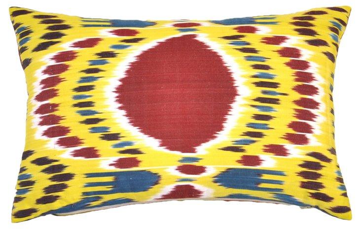 Elepi 14x20 Silk Pillow, Multi