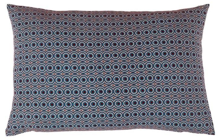 Mannie 15x23 Cotton Pillow, Multi