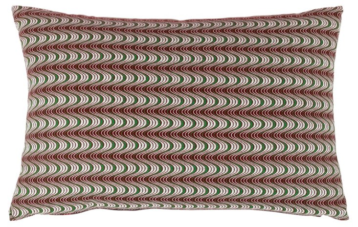Noetsie 15x23 Silk Pillow, Multi