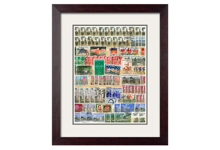 World Stamp Collage B