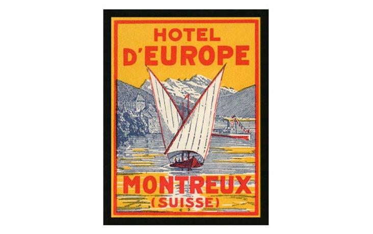 Hotel d'Europe Print
