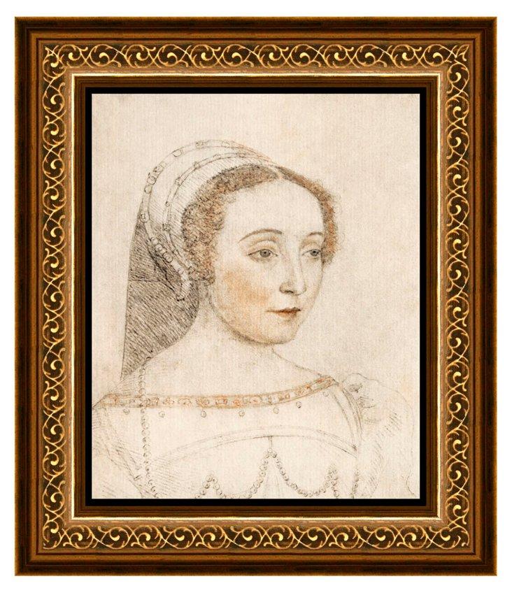 Woman Figure Framed Print