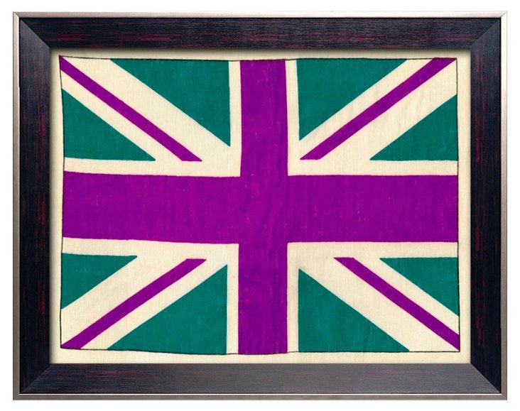 Pop English Flag Print IV