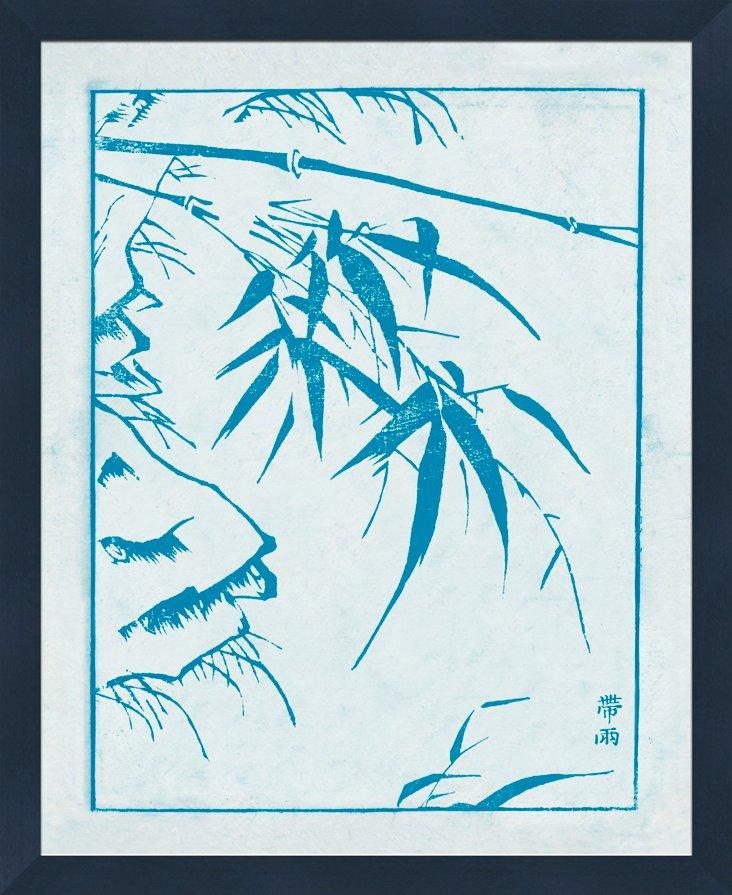 Blue Asian Botanicals I