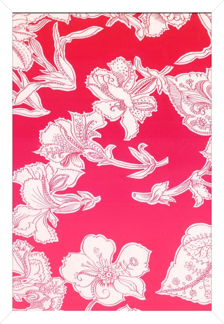 Pink Textiles I