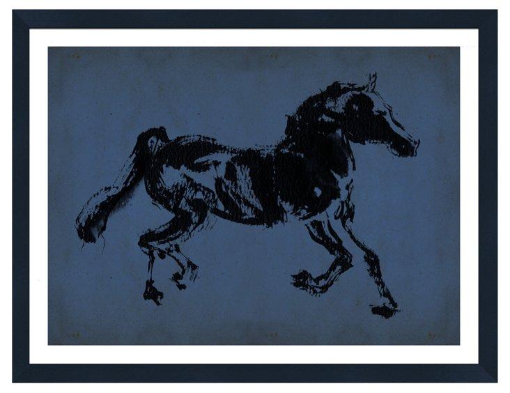 Blue Horses I