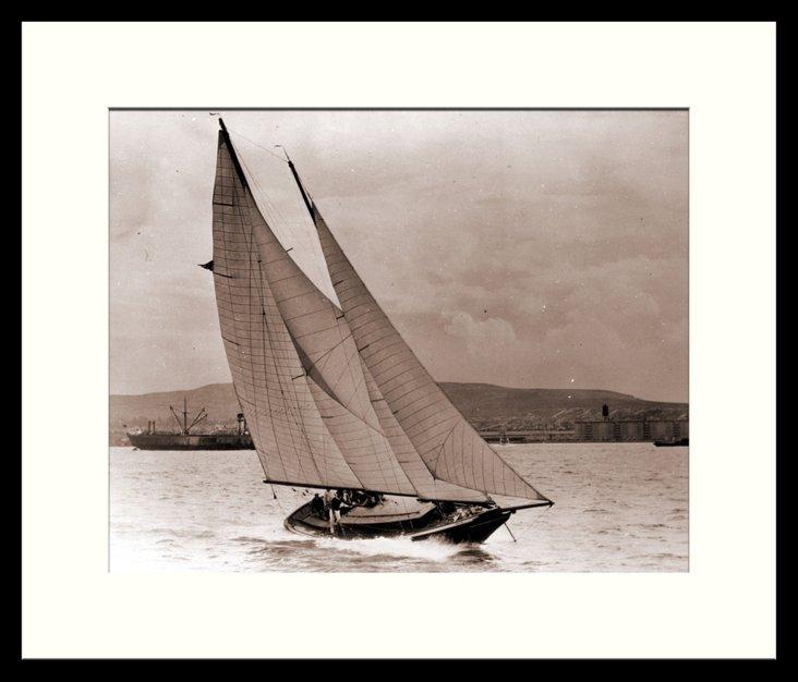 Vintage Sailboats I