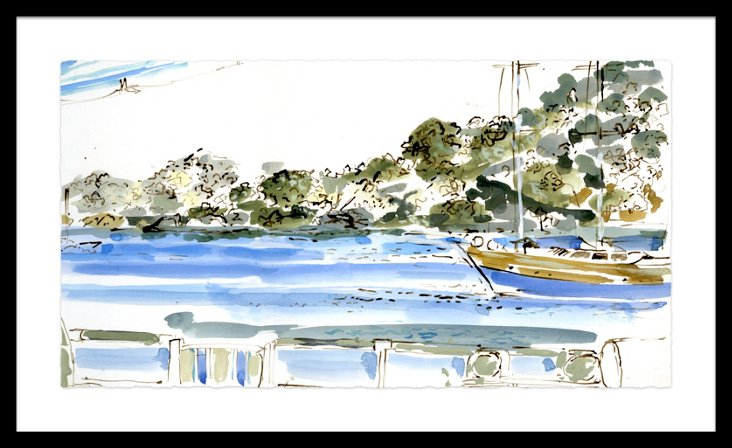 Isabelle de Borchgrave Sailing Greece