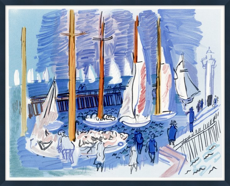 Sailboats, Côte d'Azur