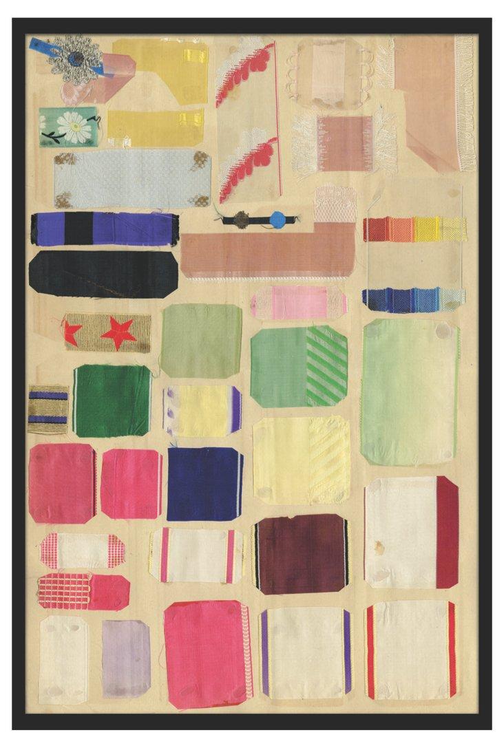Vintage Ribbons/Fabrics III