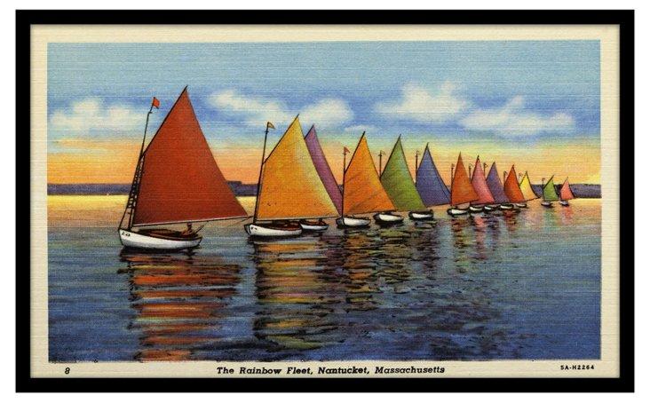 The Rainbow Fleet, Nantucket, MA