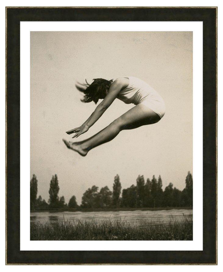 Black and White Gymnastics