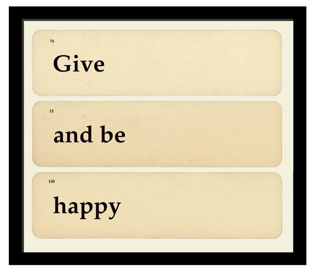 Give and Be Happy
