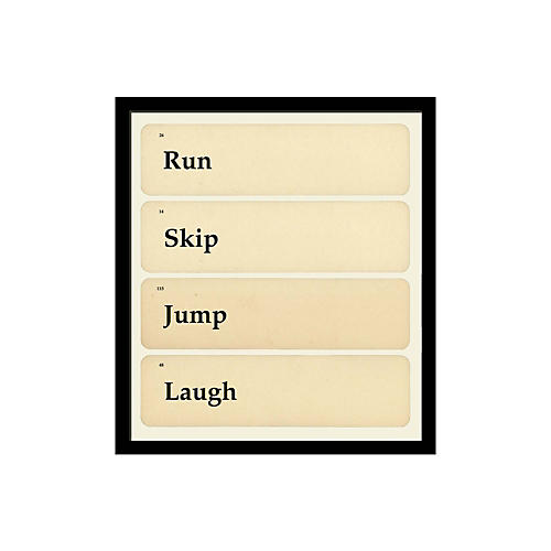 Run Skip Jump Laugh